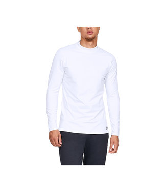 Under Armour UA CG ARMOUR MOCK FITTED WHITE