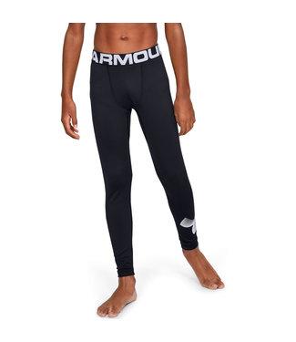 Under Armour ColdGear Armour Leggings-Black /  / White