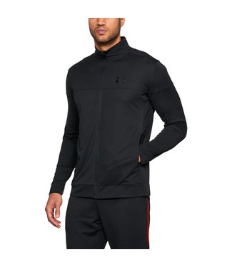 Under Armour SPORTSTYLE PIQUE TRACK JACKET - Black