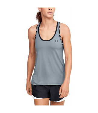 Under Armour UA Knockout Tank-Hushed Turquoise Ladies