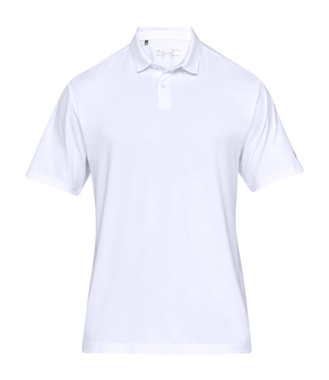 Under Armour Kamm. Perf. Polo 2.0 - Weiß