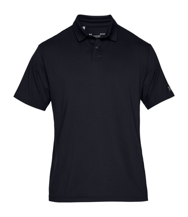 Under Armour Crest. Perf. Polo 2.0 - Black
