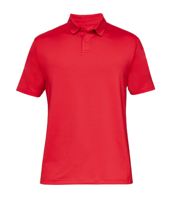 Under Armour Kamm. Perf. Polo 2.0 - Rot