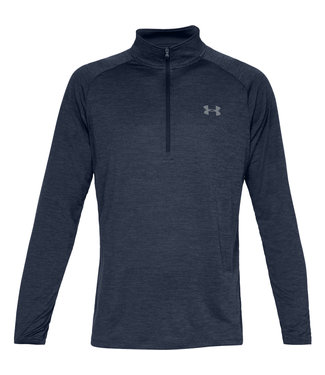 Under Armour UA Tech 2.0 1/2 Zip - Navy Blue
