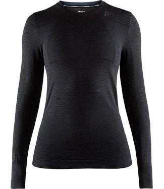 Craft Camiseta térmica Fuseknit Comfort Rn L / SW negro