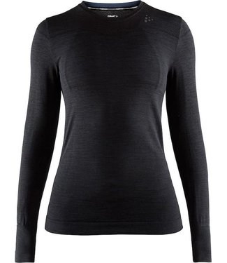 Craft Thermoshirt Fuseknit Comfort Rn L / SW Noir