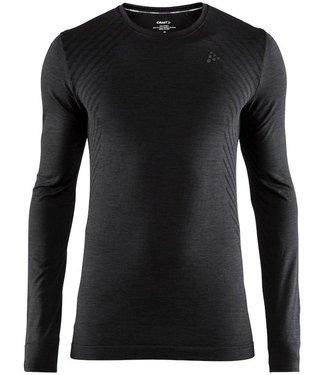 Craft Fuseknit Comfort RN LS M Thermoshirt Schwarz
