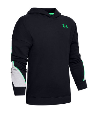 Under Armour Rival Terry Hoodie-Black /  / Vapor Green