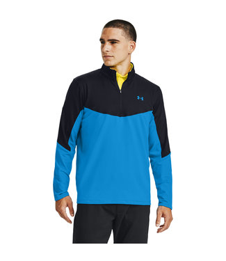Under Armour Storm Midlayer 1/2 Zip-Electric Blue / Black / Electric Blue
