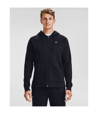 Under Armour UA Rival Fleece FZ Hoodie Black
