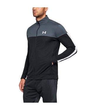 Under Armour SPORTSTYLE PIQUE TRACK JACKET - Stealth Gray