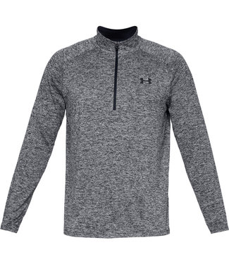 Under Armour Tech 2.0 1/2 Zip Black / White