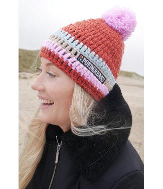 Poederbaas Ski hat - crocheted hat - Sonnenlift