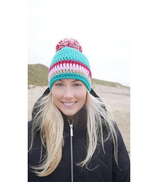 Poederbaas Ski hat - crocheted hat - Gamsleiten