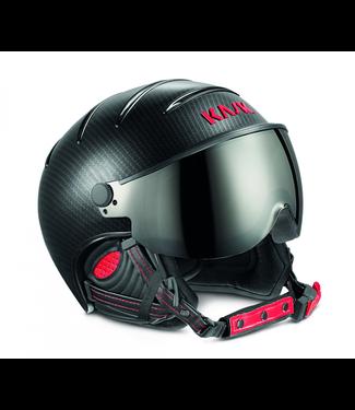 Kask Elite Pro Light Carbon / Schwarz Rot photochrom
