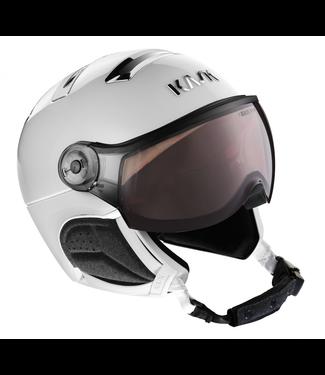 Kask Chrome White / Silver Photochromic visor
