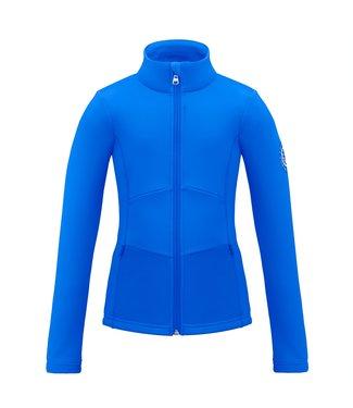 Poivre Blanc stretch fleece jacket True blue - Girls