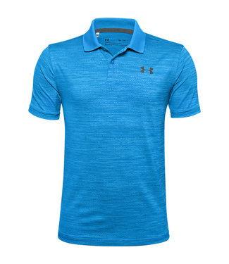 Under Armour UA Performance Polo 2.0-Electric Blue / Photon Blue / Pitch Gray