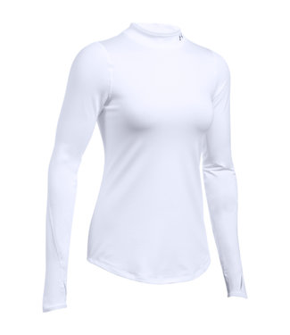 Under Armour UA CG FITTED ARMOR MOCK WHITE