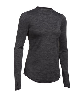 Under Armour UA CG FITTED ARMOR MOCK CARBON HEATHER