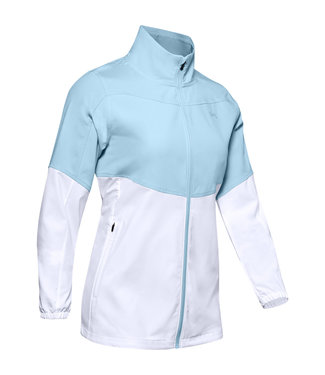 Under Armour UA Windstrike Full Zip-Blue Frost / White / Blue Frost