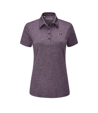 Under Armour UA Zinger Short Sleeve Polo-Nocturne Purple