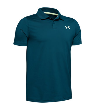 Under Armour Performance Polo 2.0-Teal Vibe / Teal Vibe / Phosphor Green