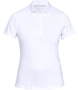 Under Armour Zinger Short Sleeve Polo - White