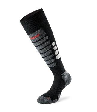 Lenz Socken Skifahren 3.0 Schwarz / Grau