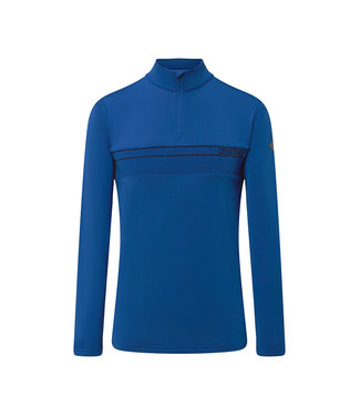Descente PARRY  T-NECK BLUE