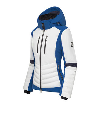 Descente CICILY DAMES SKIJACKET BLAUW / WIT