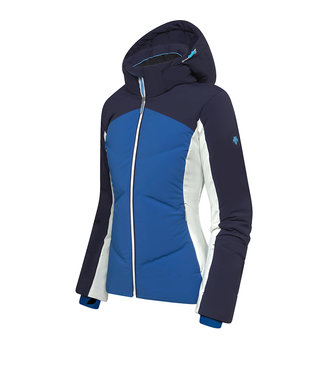 Descente ASIENNA JACKET BLUE ULTRALIGHT AND WARM