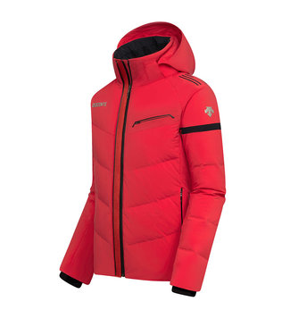 Descente SWISS DOWN JACKET - SPORTY - ELECTRIC RED