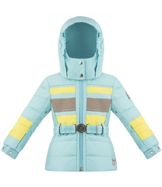Poivre Blanc LITTLE GIRLS SKI JACKET DREAMBLUE / MULTI