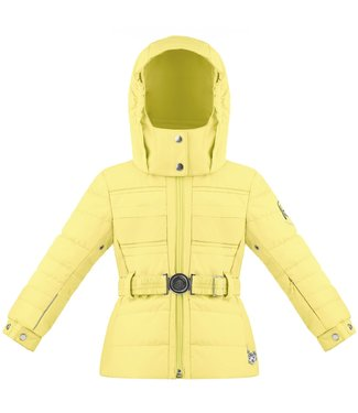 Poivre Blanc EMPIRE YELLOW LITTLE GIRLS SKI JACKET