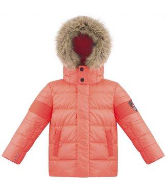 Poivre Blanc BABY BOY DOWN JACKET NECTAR ORANGE