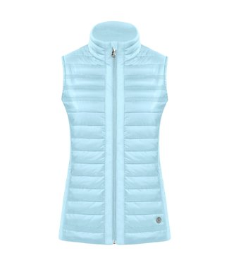 Poivre Blanc LADY DREAM BLUE QUILTED JACKET