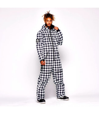 Oneskee Original Pro Anzug Black Plaid -Männer