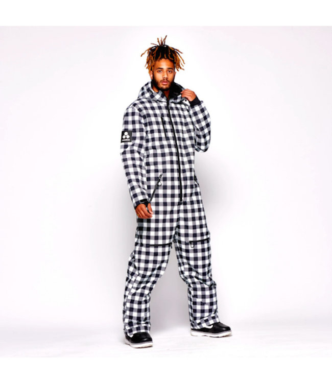 Oneskee Original Pro suit Black Plaid -Men