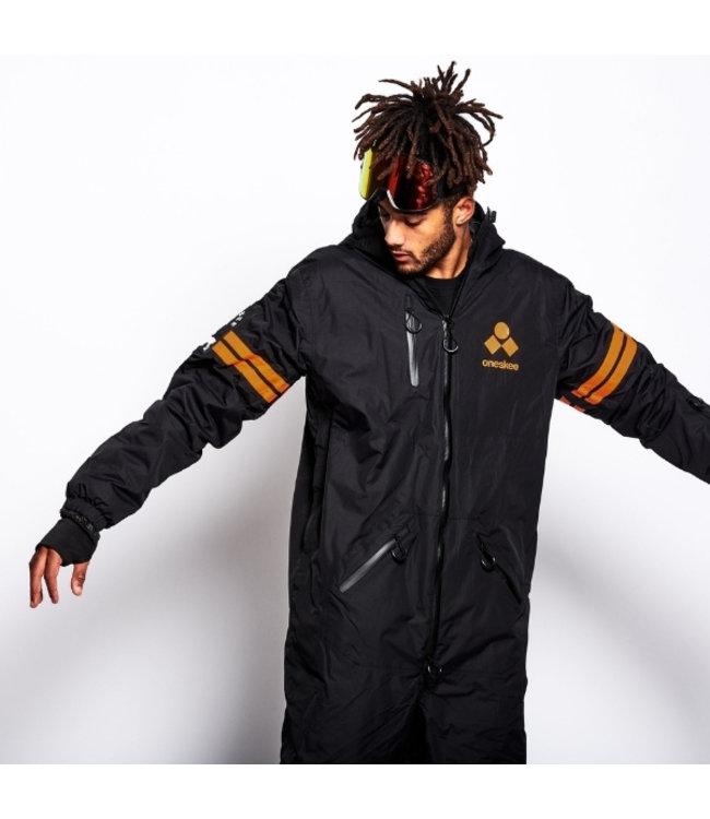 Oneskee Original Pro suit Black/Orange stripes