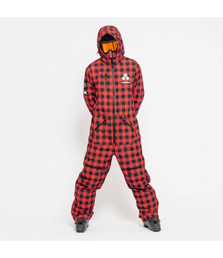 Oneskee Original Pro suit Red Plaid - Men