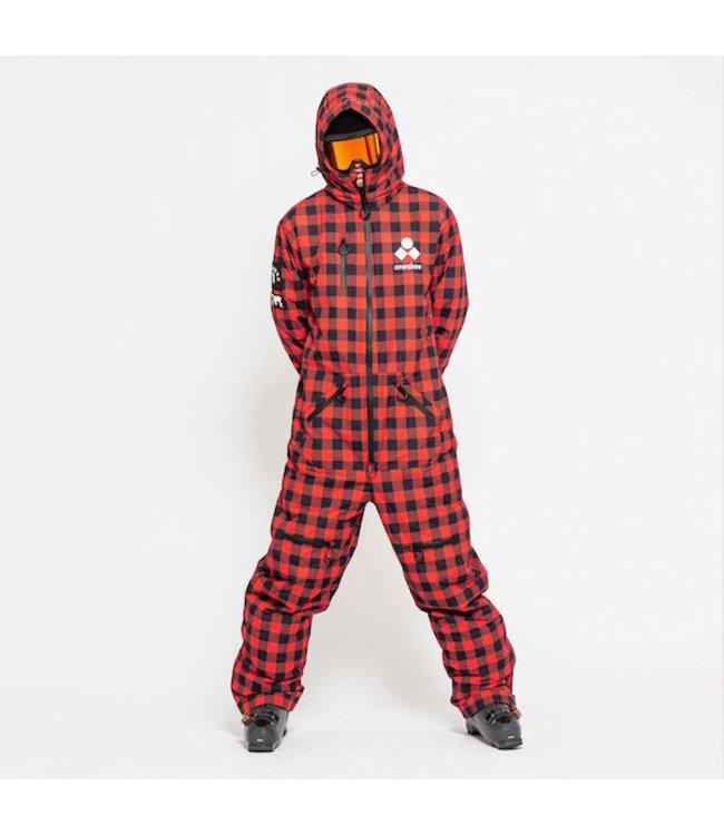 Oneskee Original Pro suit Red Plaid - Heren