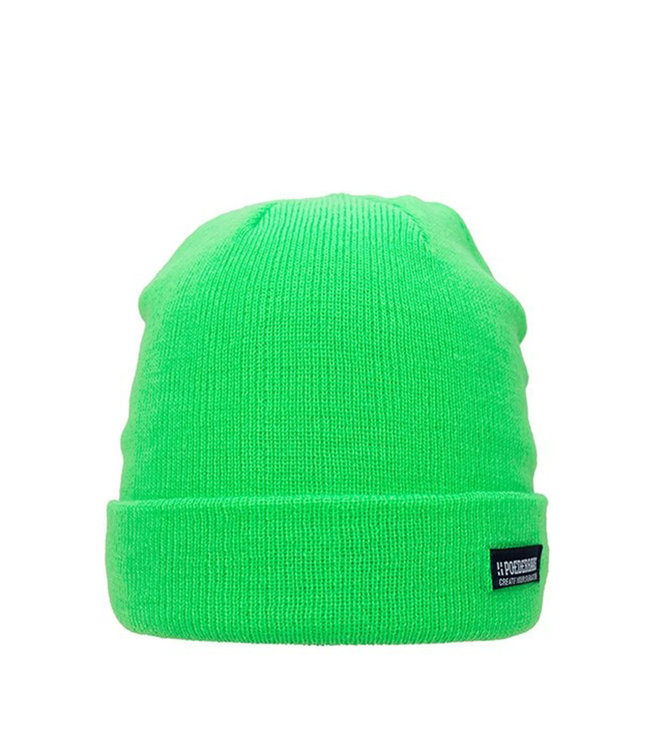 Poederbaas Colourful Basic beanie - licht groen