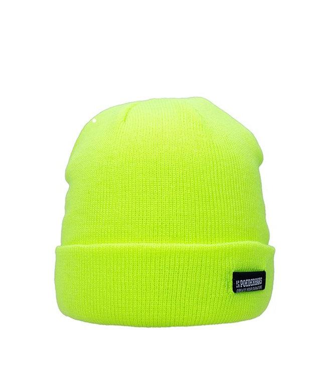 Poederbaas Bunte Basic Mütze - gelb