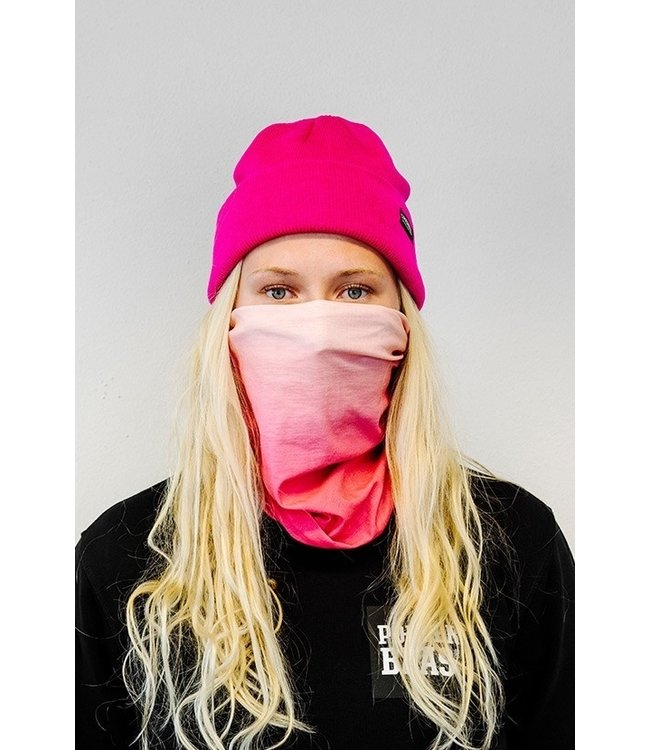 Poederbaas Neck warmer - pink