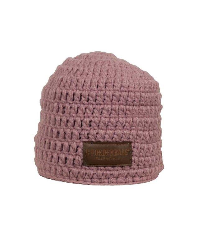 Poederbaas Sombrero de crochet rosa