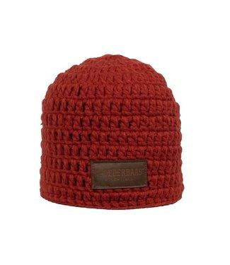 Poederbaas Crocheted hat red