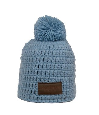Poederbaas Blue crochet hat