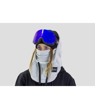 Poederbaas Grijze fleece Balaclava van Poederbaas (facemask)