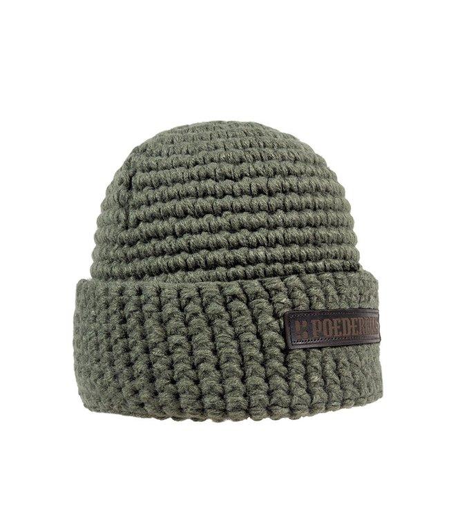 Poederbaas Wintersportmütze - grün